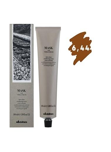 Davines Davines Mask Vibrachrom Saç Boyası 6,44 Koyu Kumral Yogun Bakır 100 Ml Renksiz